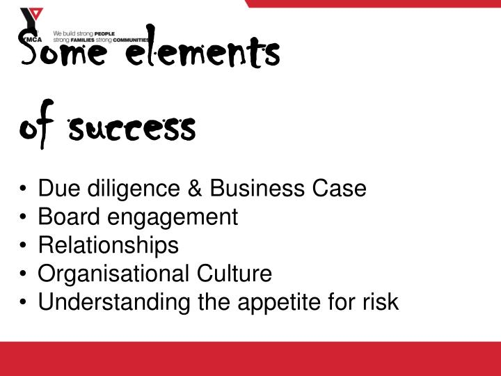 Due diligence & Business Case
