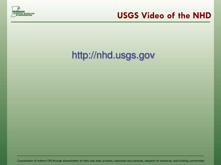 USGS Video of the NHD