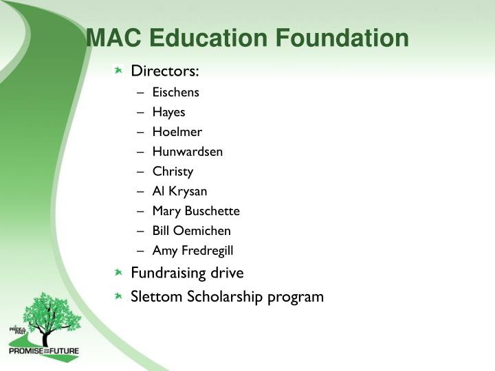 MAC Education Foundation