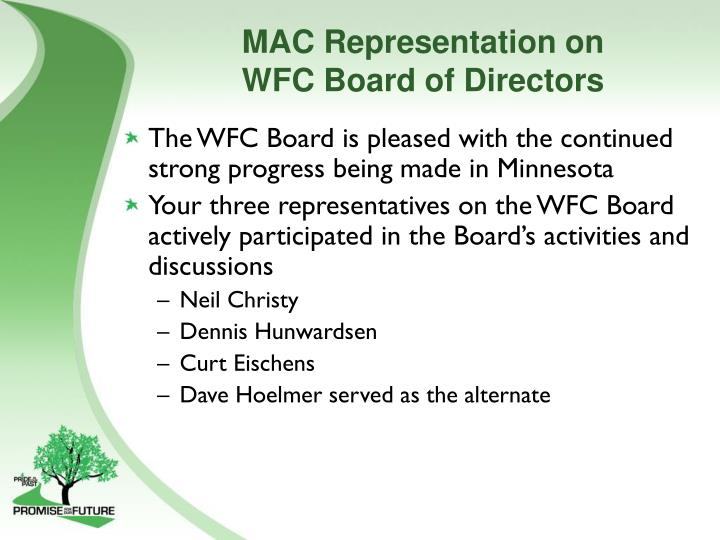 MAC Representation on