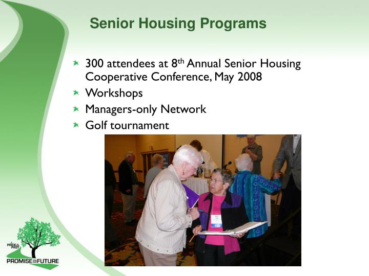 Senior Housing Programs