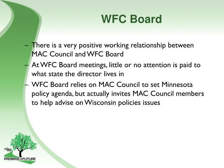 WFC Board