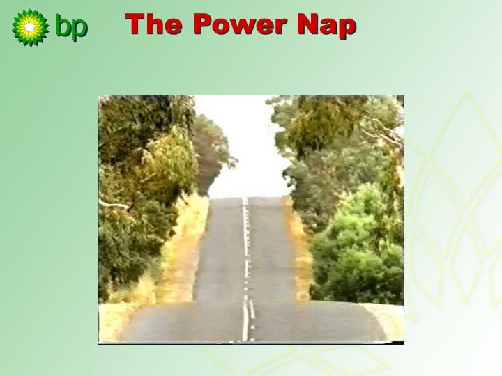 The Power Nap