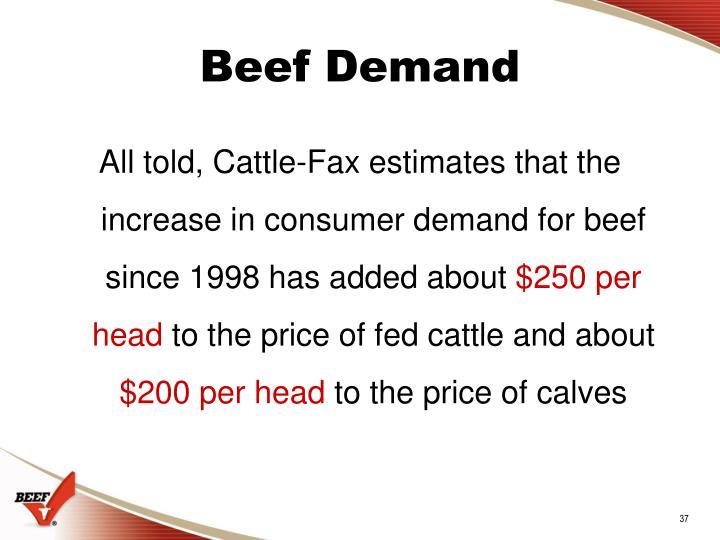 Beef Demand