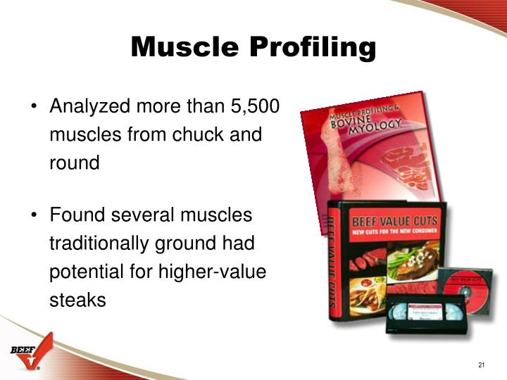 Muscle Profiling