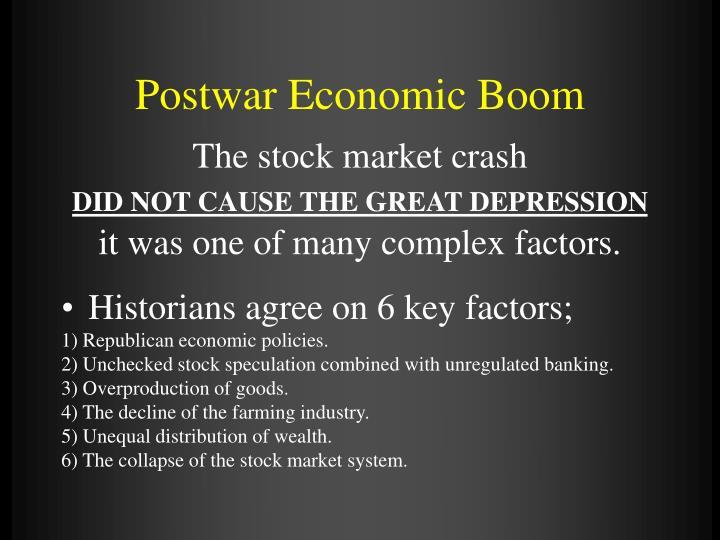 Postwar Economic Boom