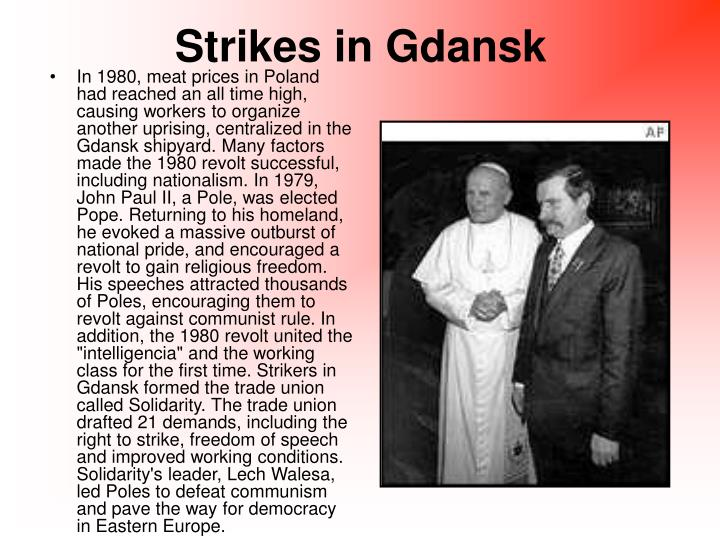 Strikes in Gdansk