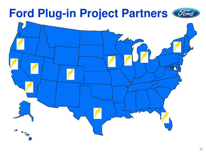 Ford Plug-in Project Partners