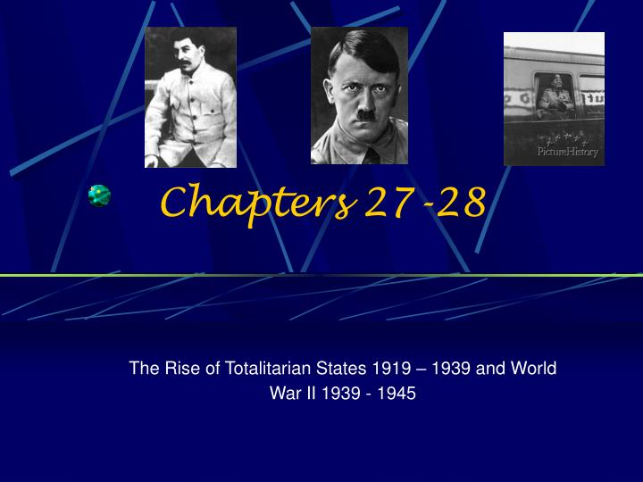 Chapters 27-28