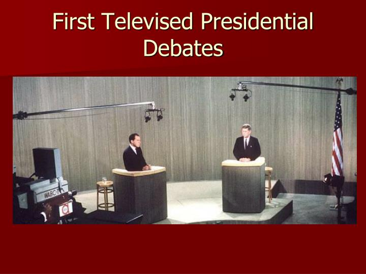 First Televised Presidential Debates