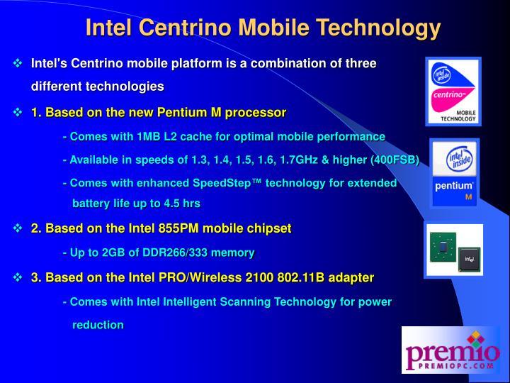 Intel Centrino Mobile Technology