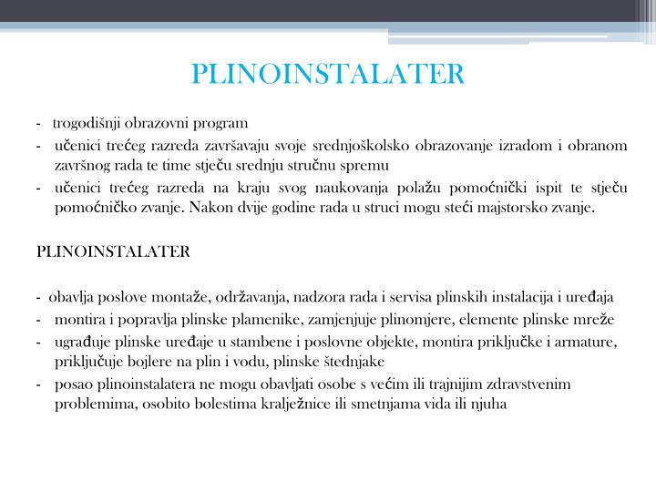 PLINOINSTALATER