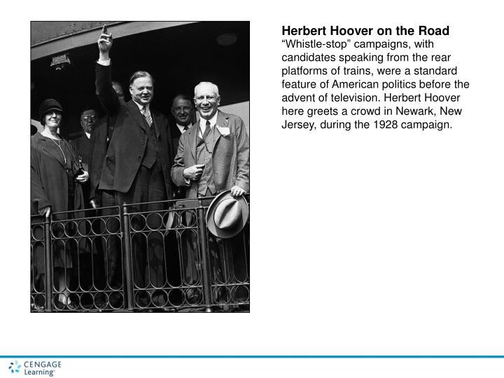 Herbert Hoover on the Road