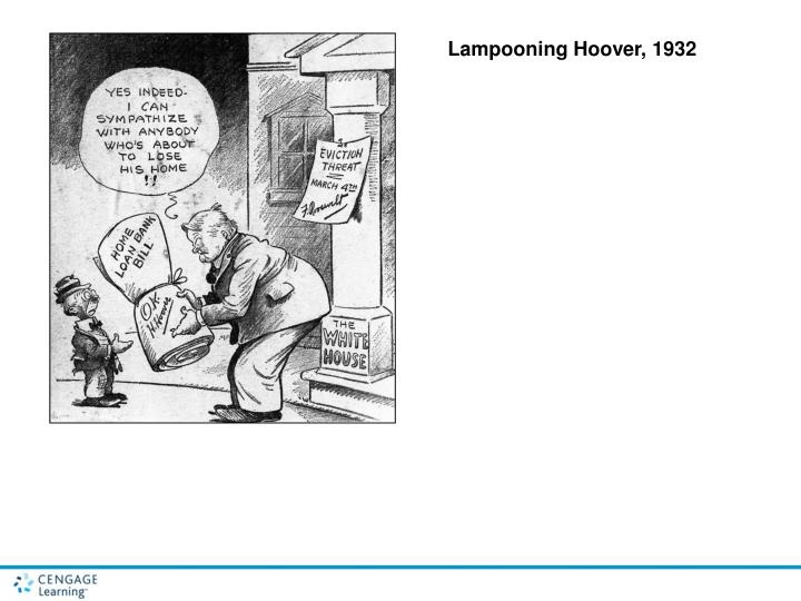 Lampooning Hoover, 1932