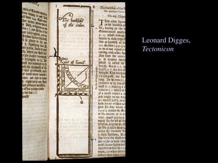 Leonard Digges,