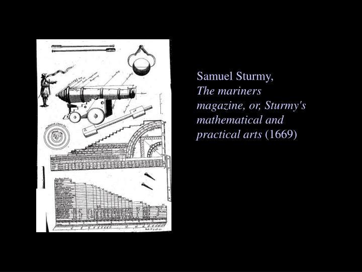 Samuel Sturmy,