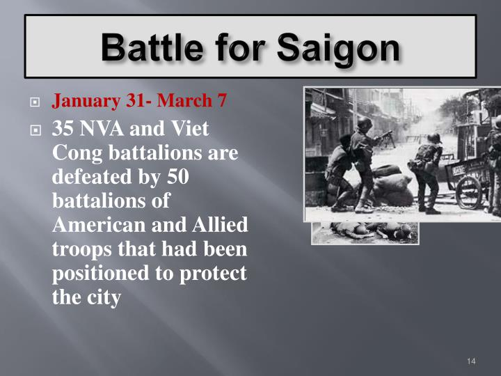 Battle for Saigon