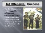 tet offensive success