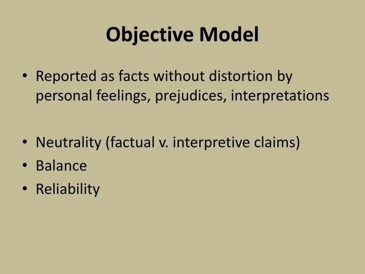 Objective Model