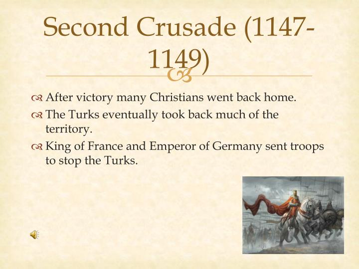 Second Crusade (1147-1149)