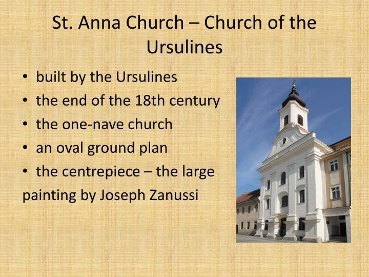 St. Anna Church – Church of the