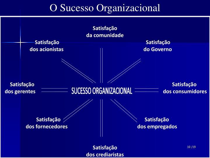 O Sucesso Organizacional