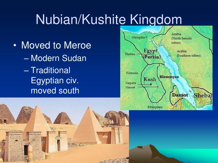 Nubian/Kushite Kingdom