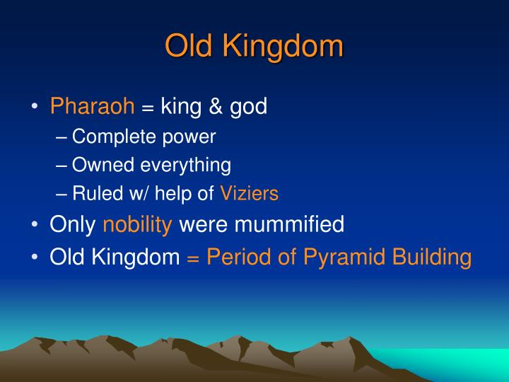 Old Kingdom