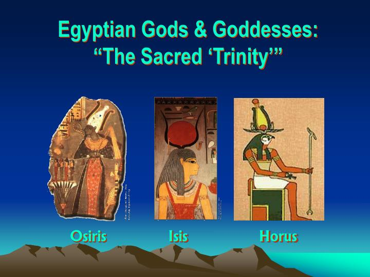 Egyptian Gods & Goddesses: