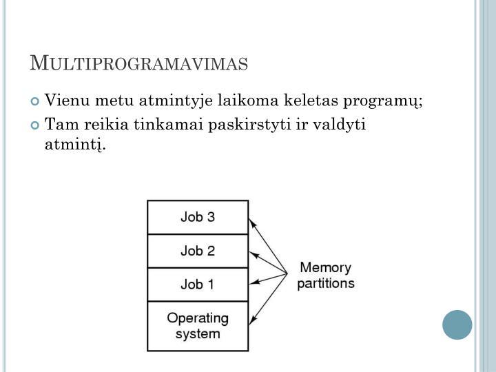 Multiprogramavimas