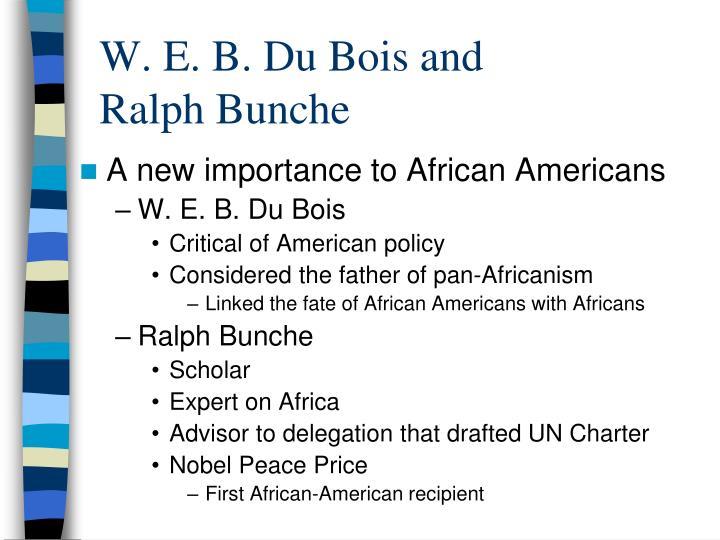 bois father modern africanism