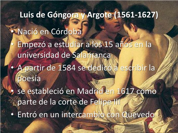 Luis de Góngora y