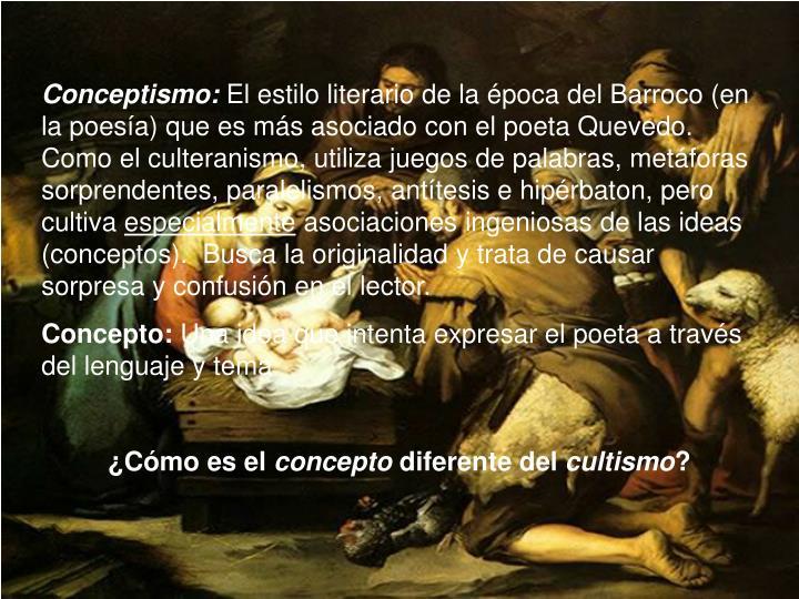 Conceptismo: