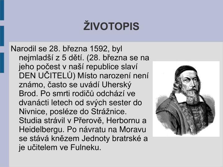 ŽIVOTOPIS