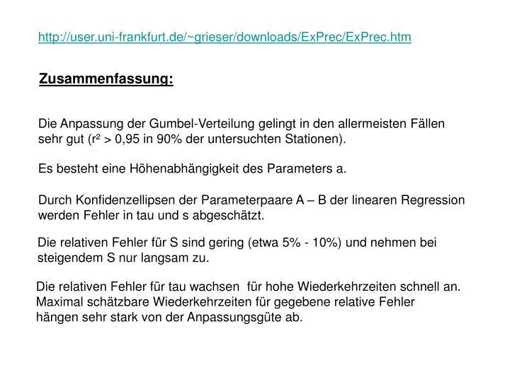 http://user.uni-frankfurt.de/~grieser/downloads/ExPrec/ExPrec.htm