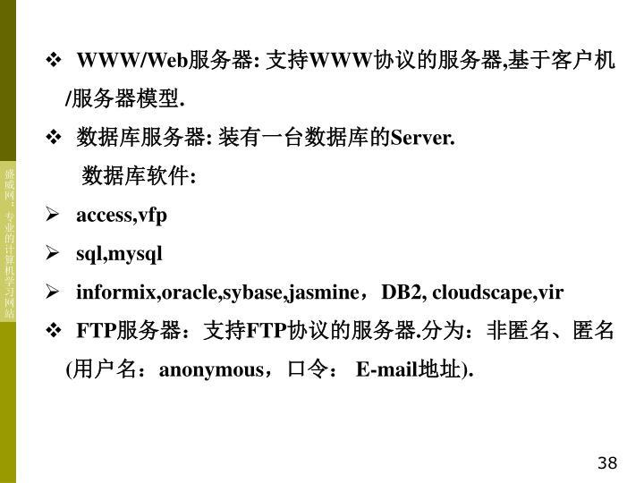 WWW/Web