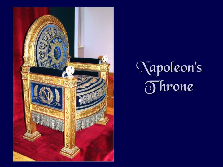 Napoleon's Throne