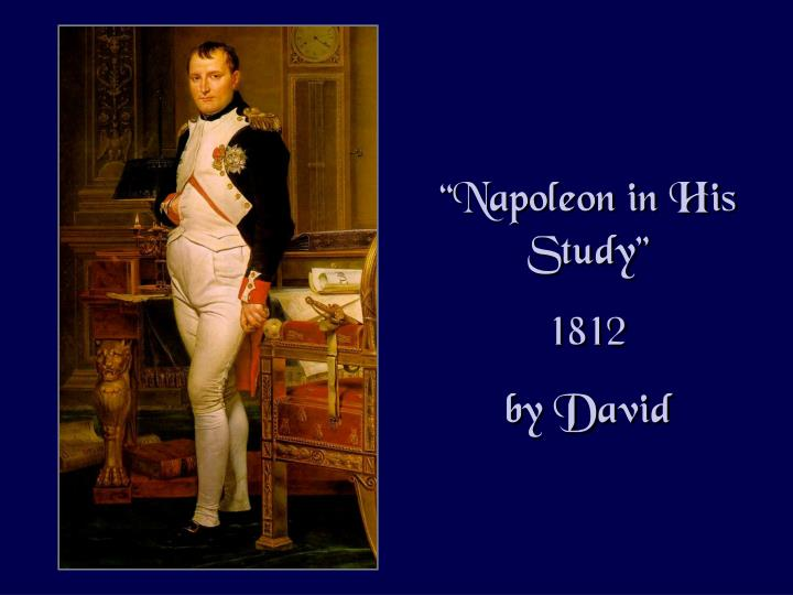 """Napoleon in His"