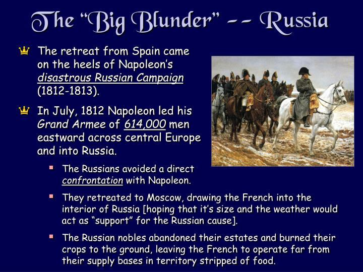"The ""Big Blunder"" -- Russia"