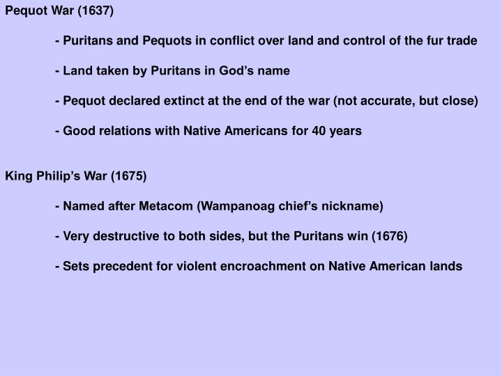 Pequot War (1637)