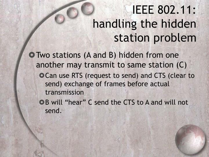 IEEE 802.11: