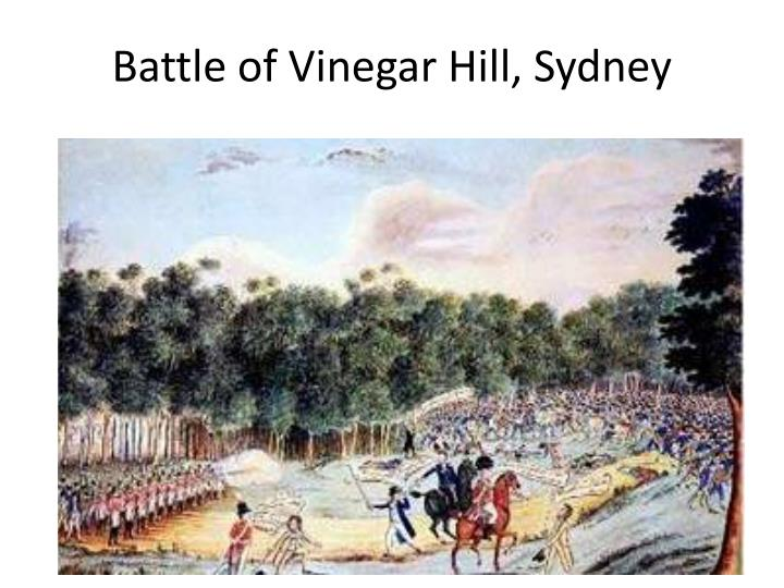 Battle of Vinegar Hill, Sydney