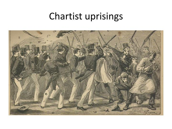 Chartist uprisings