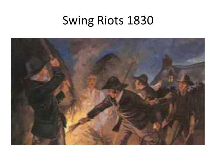 Swing Riots 1830