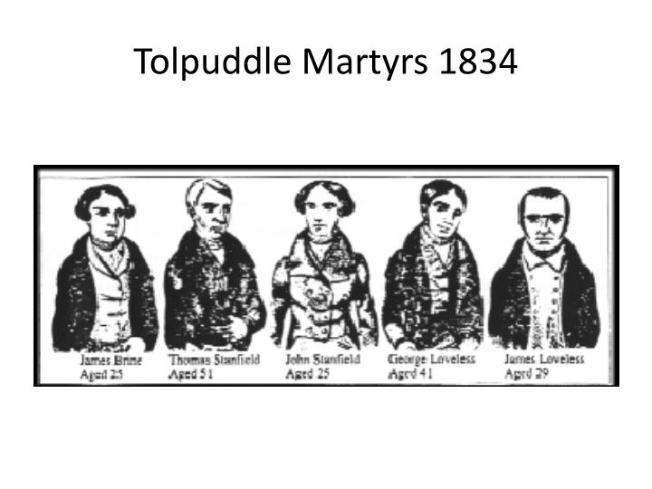 Tolpuddle Martyrs 1834
