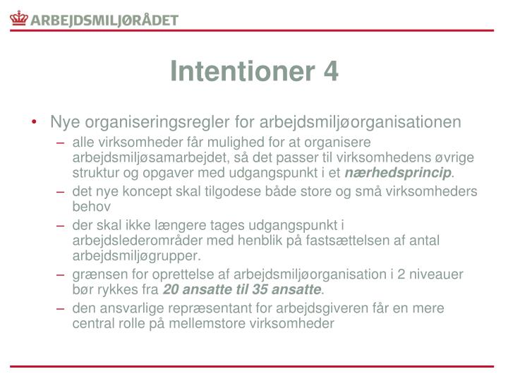 Intentioner 4