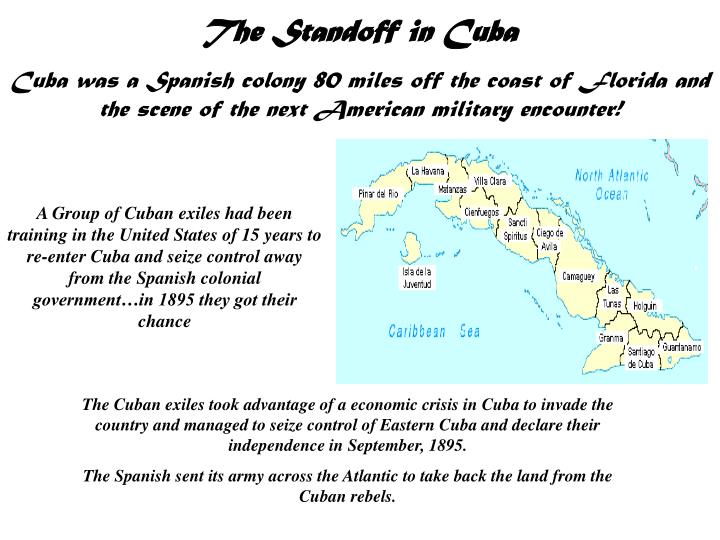The Standoff in Cuba