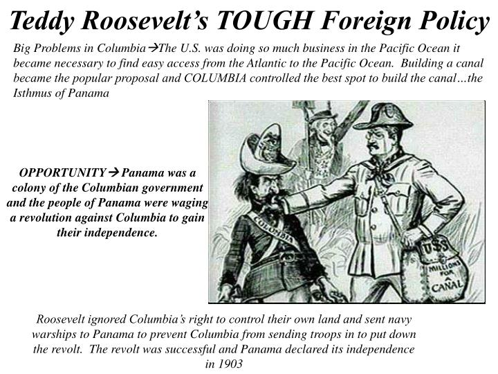 Teddy Roosevelt's TOUGH Foreign Policy