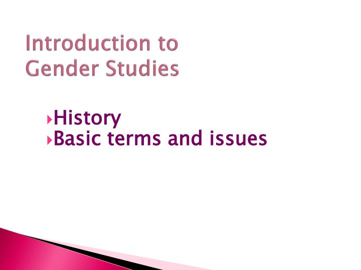 an introduction to the issue of gender preferences Children exhibit preferences for gender inequality as a cross-cutting issue gender inequality existed because of gender.