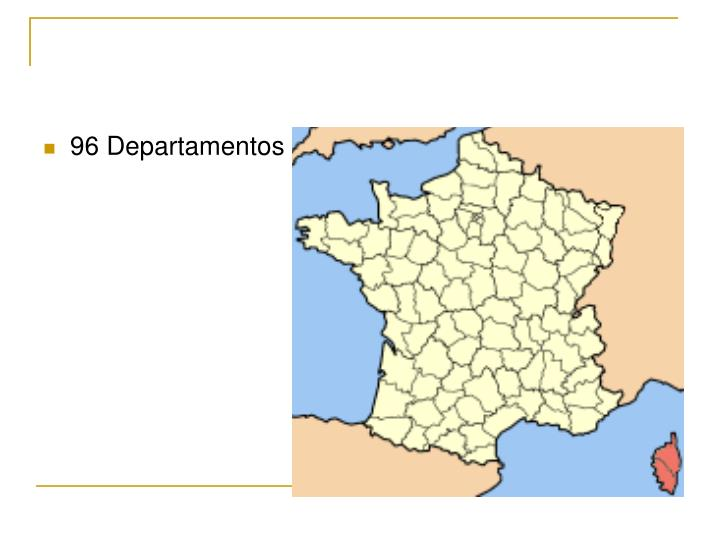 96 Departamentos